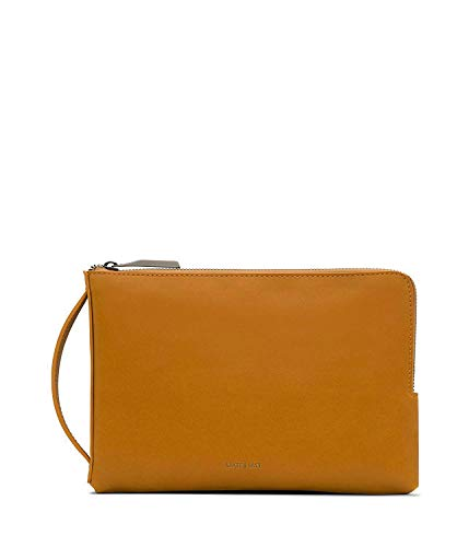 Matt & Nat Seva Large Handbag, Vintage Wallets Collection, Shine (Yellow)
