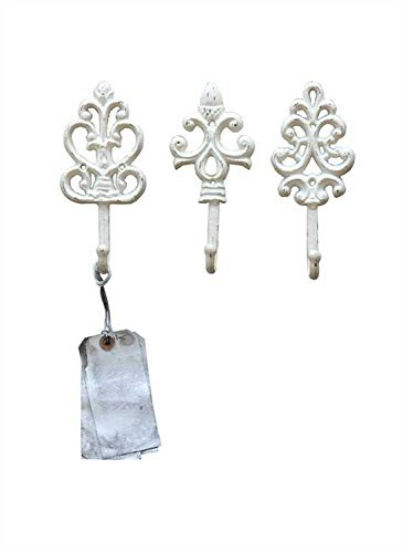 Shabby Cottage Chic Cast Hooks