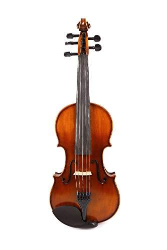 FidgetFidget 5String Acoustic Violin 4/4 Maple+Spruce Handmade Free Case Bow Rosin ()