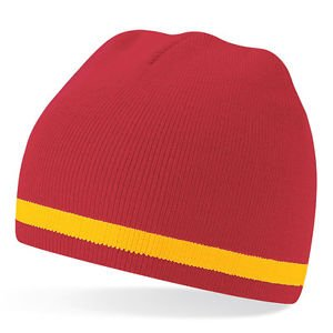 Spanish National Costume (NEW Spain Spanish Espana National Team Colour Woolly Beanie Hat - One Size)