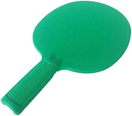 Raqueta De Tenis De Mesa Raqueta De Plástico Solo Verde: Amazon.es ...