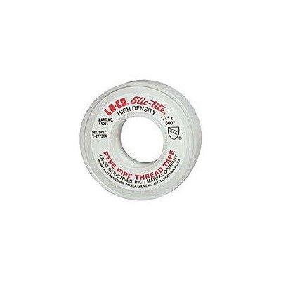 1'' X 300'' LA-CO® Markal® SLIC-TITE® PTFE Heavy Duty Premium Grade Pipe Thread Tape [Set of 2]
