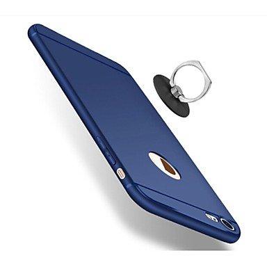 Fundas y estuches para teléfonos móviles, para el caso de la cubierta del caso sostenedor de la contraportada del sostenedor de la caja de la contraportada del color sólido para el ( Color : Rosa , Mo
