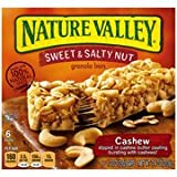 Nature Valley Sweet & Salty Nut Cashew Granola Bars, 1.2 Oz, 6 Count (Pack of 3) For Sale