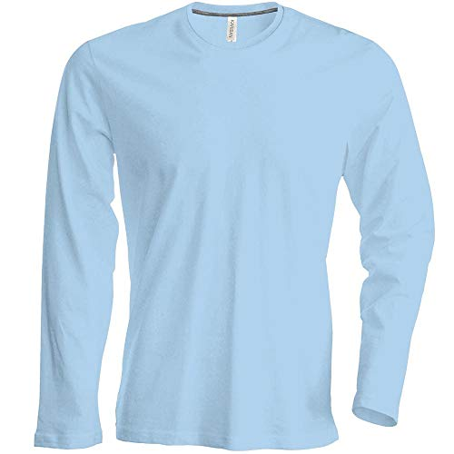 20Colours 3XL M Light Weight Slimmer Cut 2XL Sizes S Mens Long-Sleeved Crew Neck Shirt 4Extra Large by noTrash2003 L XL