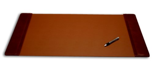 (Dacasso Leather Office Desk Pad with Side Rails, 38 by 24-Inch,)