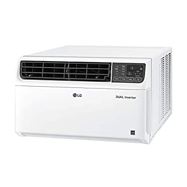 LG LW1019IVSM Energy Star 9,500 BTU 115V Dual Inverter Window Air Conditioner with Wi-Fi Control, White