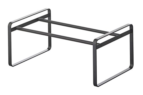 YAMAZAKI home Frame Adjustable Shoe Rack Black