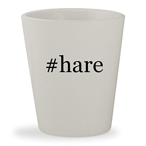 #hare - White Hashtag Ceramic 1.5oz Shot (Burke And Hare Costume)