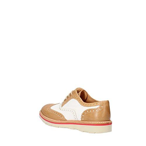 Pulidor de Calpierre Piel de para cordones mujer Zapatos Blanco 8xwqvz