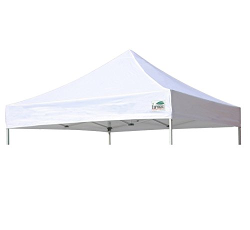 Eurmax Replacement Top Cover for 10x10 Pop up Canopy Party Tent,top Cover Only, Canopy Frame Is Not Included (White)