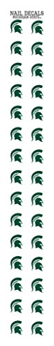 - Michigan State Nail Sticker Decals