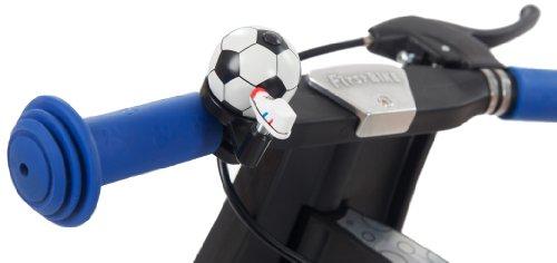 FirstBIKE Soccer Bell Black White