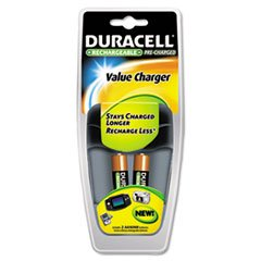 Duracell Value Charger with Duralock Power Preserve Technology - Value Charger with Duralock Power Preserve Technology