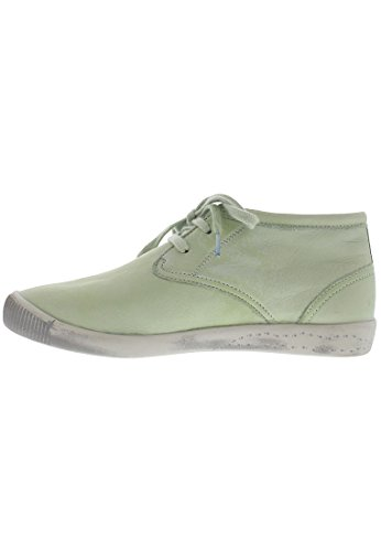 WoMen Indira washed Lace Up Derby leather Green Softinos Pastel tf75dqf