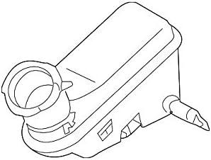 Kia 58511-2T100 Brake Master Cylinder Reservoir