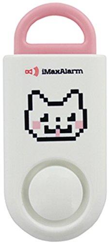 iMaxAlarm SOS Alert Personal Alarm - 130dB Alarm - Safety & Security Emergency Device - Kitty Cat