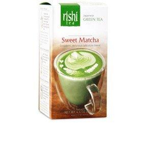 Rishi Sweet Matcha Tea, Japanese Green Tea Powder, 4.4 Oz (Pack of 3)