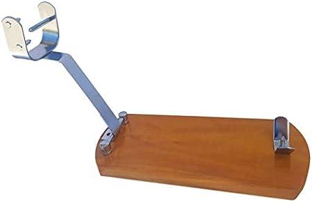 Dreamstone Soporte jamonero Plegable fácil de Guardar + Cuchillo + chaira - Cubrejamones de Regalo