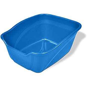Amazon Com Nature S Miracle High Sided Litter Box P