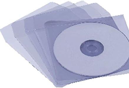 Iberplas 949036 - Caja de Fundas CD/DVD (100 Unidades), Color ...