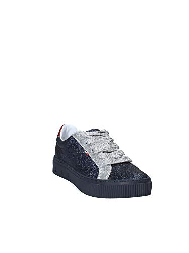 Tommy Rouge En0en00162 Femmes Hilfiger 38 Sneakers Uxr1Uqa