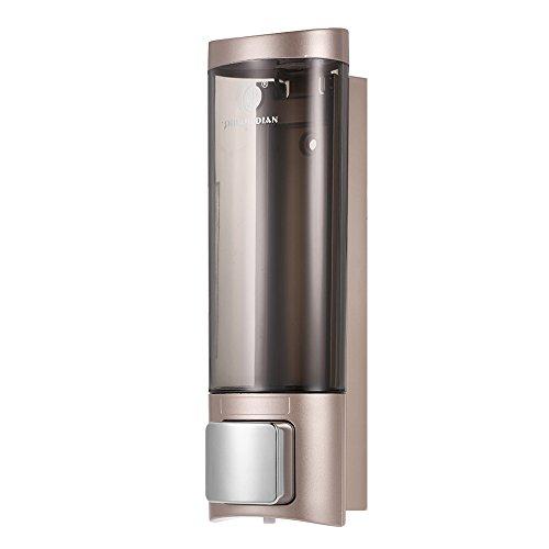 Anself CHUANGDIAN 200ml Wall Mount Manual Soap Dispenser Liquid Shampoo Shower Gel Hand Dispenser