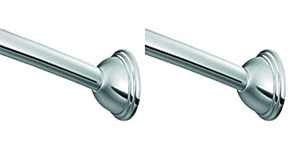 Amazon Curved Shower Rod.Amazon Com Moen Csr2160ch Adjustable Curved Shower Rod