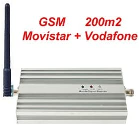 Kit Amplificador GSM - Cobertura: 200m2 **** LEGAL en España **** Para Movistar y Vodafone: Amazon.es: Electrónica