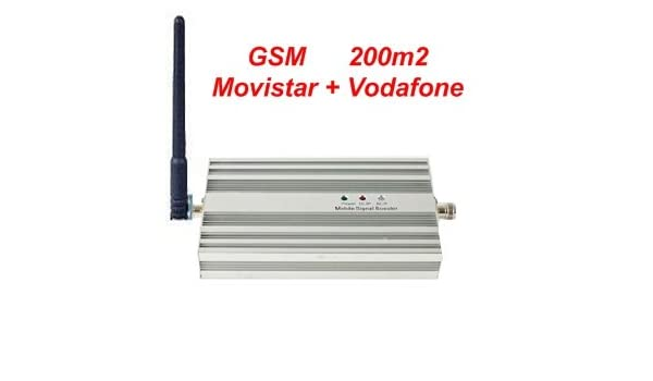 Kit Amplificador GSM - Cobertura: 200m2 **** LEGAL en España **** Para Movistar y Vodafone: Amazon.es: Electrónica