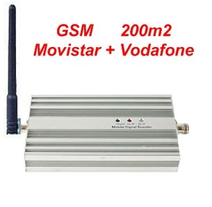 Kit Amplificador GSM - Cobertura: 200m2 **** LEGAL en España ...
