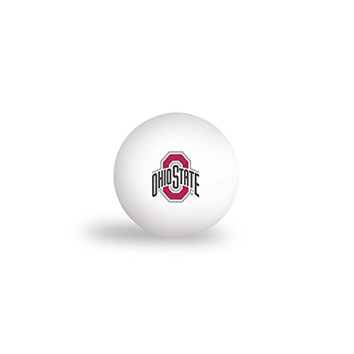 Ohio State Buckeyes Logo Ping Pong Balls 6/Pack