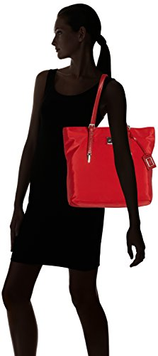 Piero Guidi Damen Tote-bag, Rot, 31 Cm