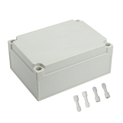 LeMotech Waterproof Dustproof IP67 Junction Box DIY Case Enclosure Gray 6.9