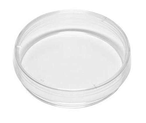 Kord Valmark 2906 Polystyrene Petri Dish, Stackable, 100 mm Diameter, 25 mm Height, 11.95 cu. in. Capacity (Pack of 340)