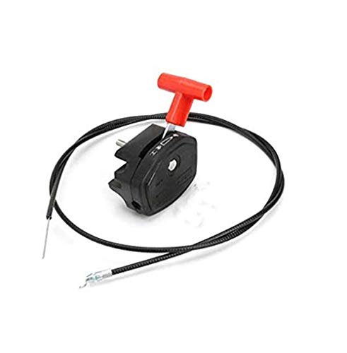 AtFipan Universal 142Cm 56Inch Throttle Cable & Choke Lever For Lawnmower Lawn Mower