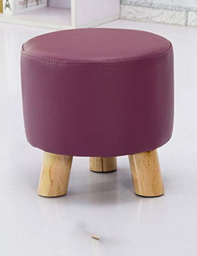 2 Piers Living Room - Czhuz Home/Furniture Decoration Desk Table Fashion Small Round Stool Creative Coffee Table Stool Children Stool Simple Living Room Home Nail Sitting Pier Sofa Stool Durable,#2