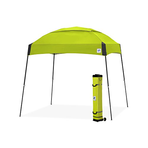 E-Z UP Dome Instant Shelter Canopy, 10 by 10', Limeade