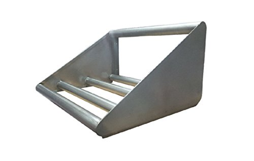 Commercial Stainless Steel Tubular Wall Shelf for Glass Rack 21 x 84 by L and J