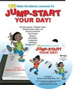 180 Daily Guidance Lessons to Jump-Start Your Day! and CD