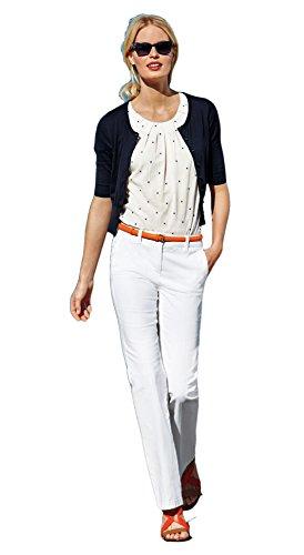 Boden Bootcut Trousers - BODEN Women's White Bootcut Slim Trousers Pants WM359 - Size US 14 L