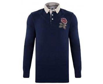 CANTERBURY Inglaterra 1871 Polo de Rugby Caballero, Azul Marino, M ...