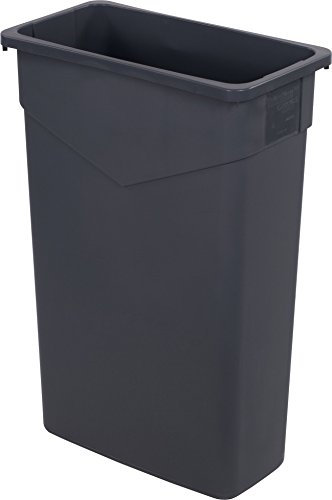Carlisle 34202323 TrimLine Rectangle Waste Container Trash Can Only, 23 Gallon, ()