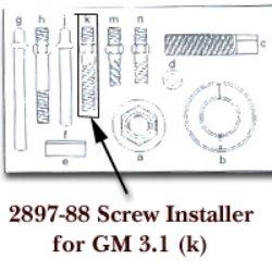 KD Tools (KDT2897-88) Screw Installer for GM 3.1 for KDT2897