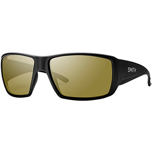 Smith Guides Choice ChromaPop+ Polarized Sunglasses, Matte Black, Bronze Mirror - Guide Sunglasses