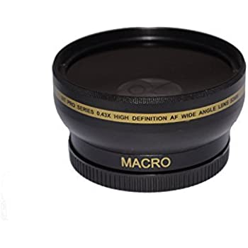 58mm High Definition Wide Angle Macro Lens for Nikon, Canon, Sigma, Tamron,  Pentax, Olympus, Rokinon, Sony, Samsung, Zeiss - Ultra Wide Angle