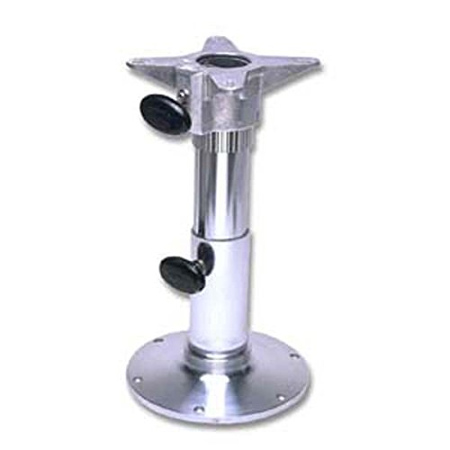 Garelick/EEz-In 75028:01 Adjustable Height Seat Base with Smooth Finish - Polished, 18