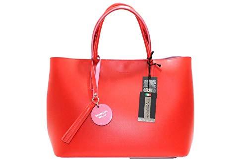 Rojo Tosca Al 32x13x26cm Piel Blu Mujer Hombro Para De Bolso 8qnT48B