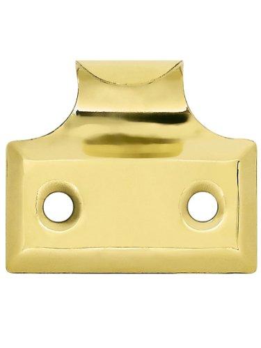 (Stamped Brass Hook Style Sash Lift in Antique Brass Window Sash Hardware)