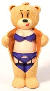 DEE DEE Sexy Lingerie Bad Taste Bear Figurine